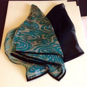 Bundle of Two Silk Scarves